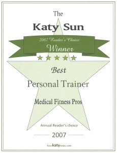Personal Trainer Katy Tx