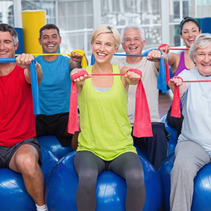 Medical Exercise Seniors Fitness